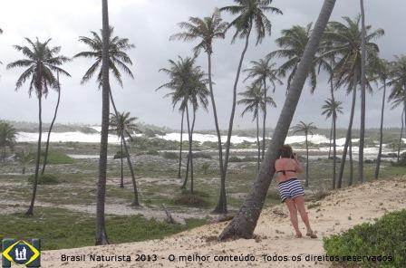 Sempre uma inspiração as dunas brancas do litoral norte da Bahia...