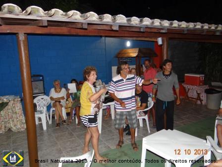 Sorteio do site Brasil Naturista do Jornal Naturista aos participantes do II ENNN