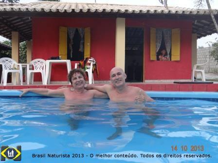 Local naturista da pousada Rio&Mar