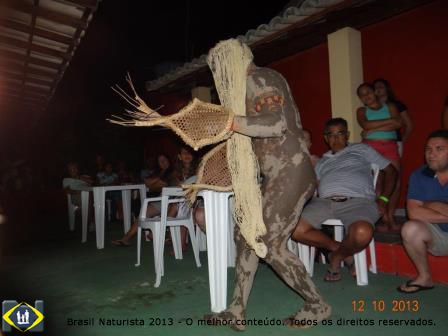 Apresentação do naturista e ator Jorge Bandeira de Manaus da Amazônia