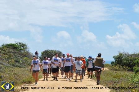 3º Caminhada Ecológica Falésias de tambaba em Tambaba/Paraíba