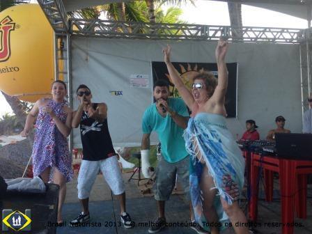 Encerramento animado do Tambaba Fest na praia de Tambaba/Paraíba