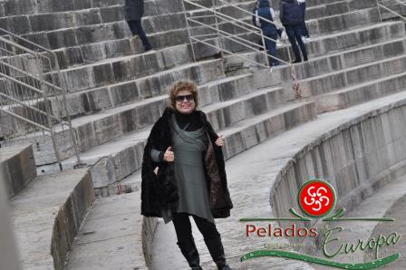 A Arena de Verona é um anfiteatro romano, escollhido para o lançamento do projeto de inverno...