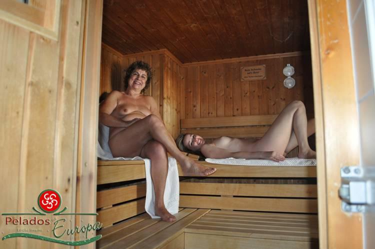 Sauna seca oitenta graus hotel Luehrmann Ramsau/Áustria