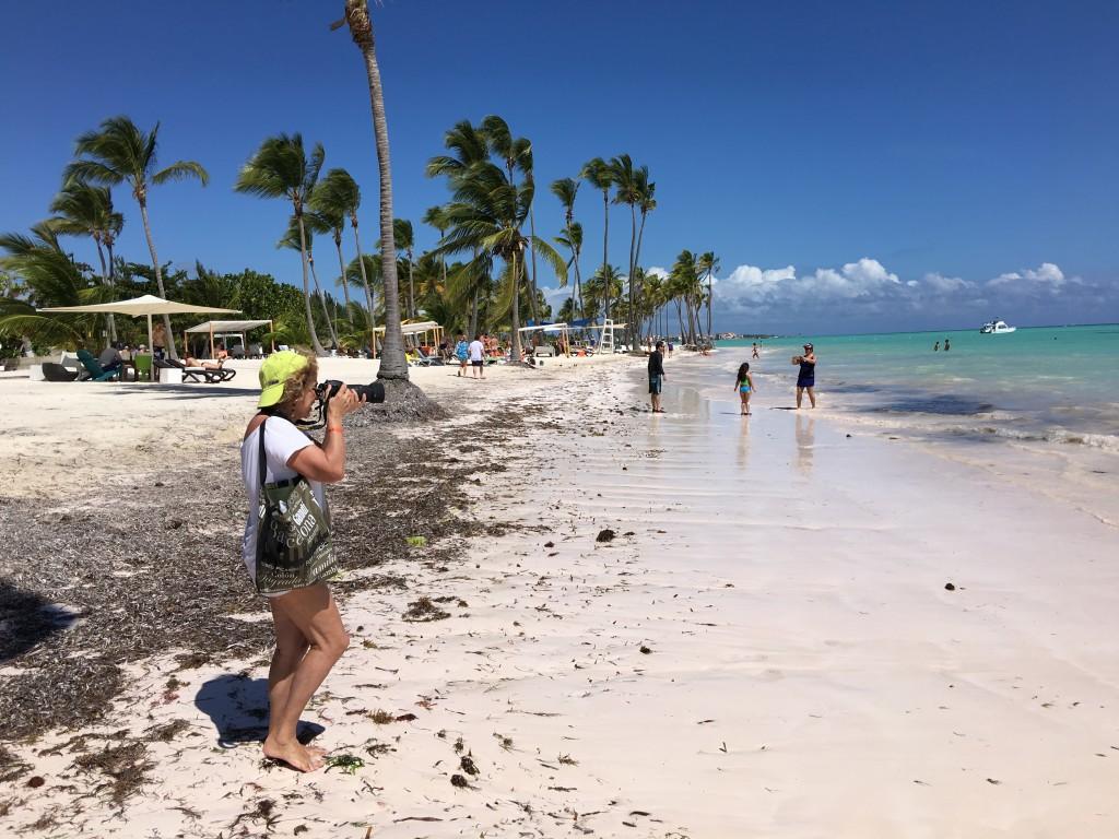 Playa Juanillo Punta Cana foi para lá que eu fui..