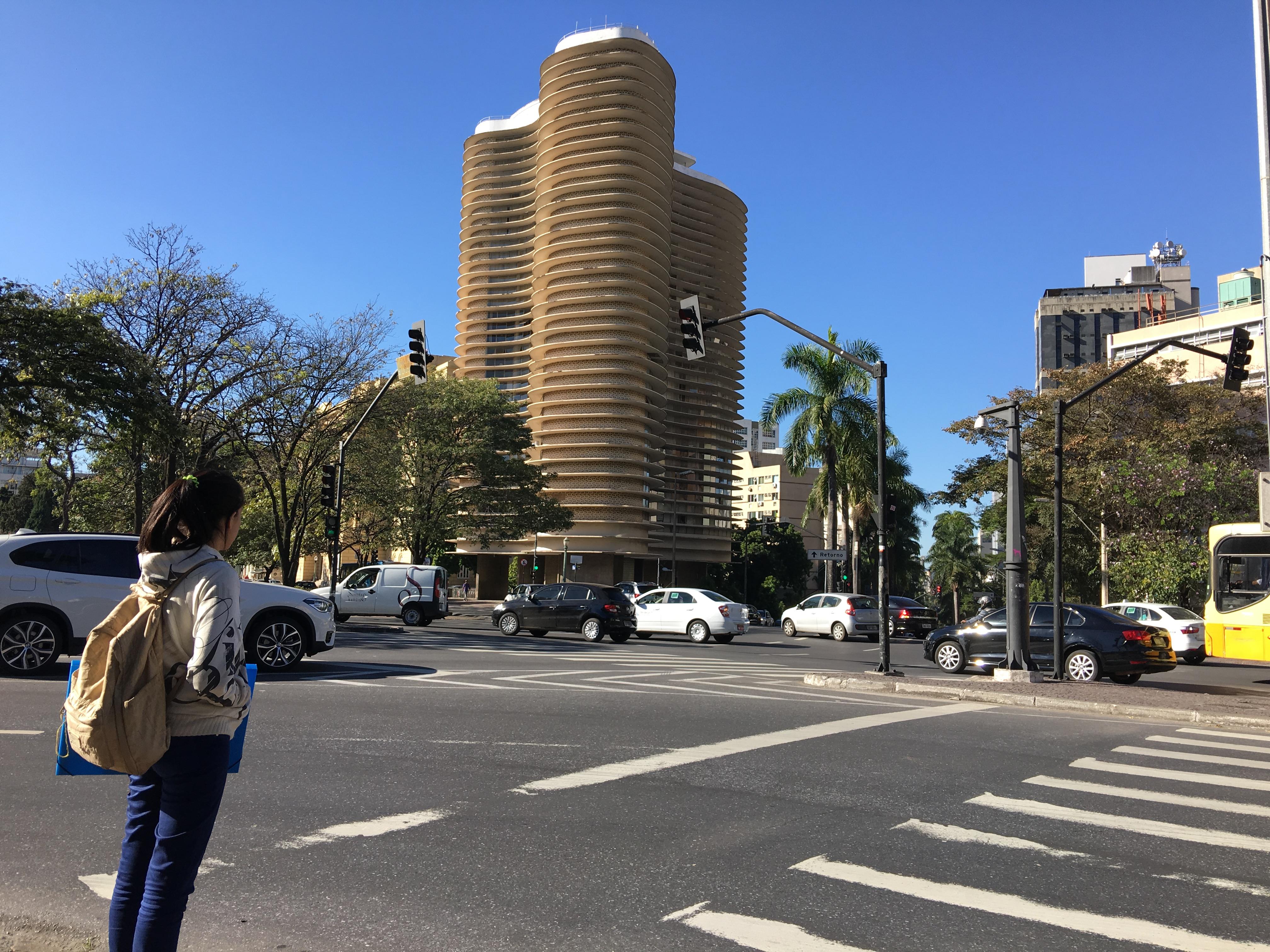 Edifício Niemeyer, circuito cultural da Praça da Liberdade